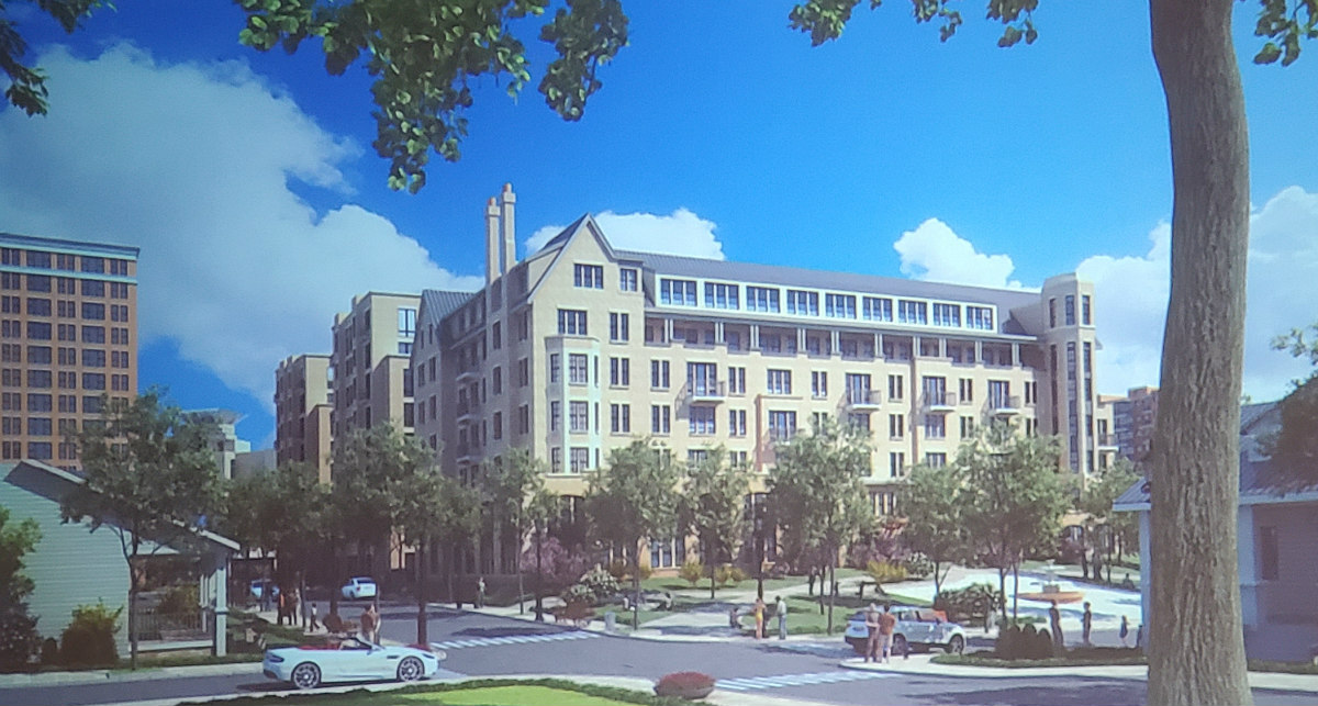 Developer Proposes 350 Apartments and Park for Downtown Bethesda